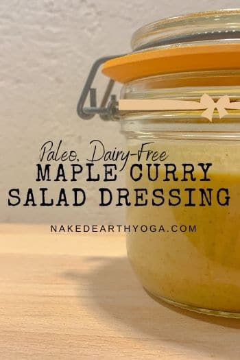 maple curry salad dressing
