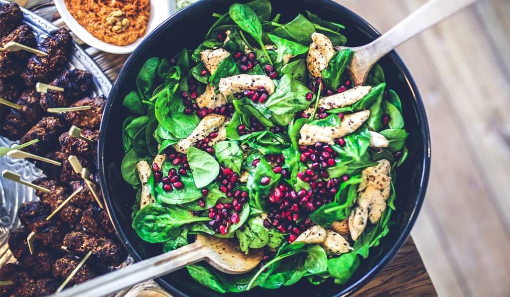 salad yoga