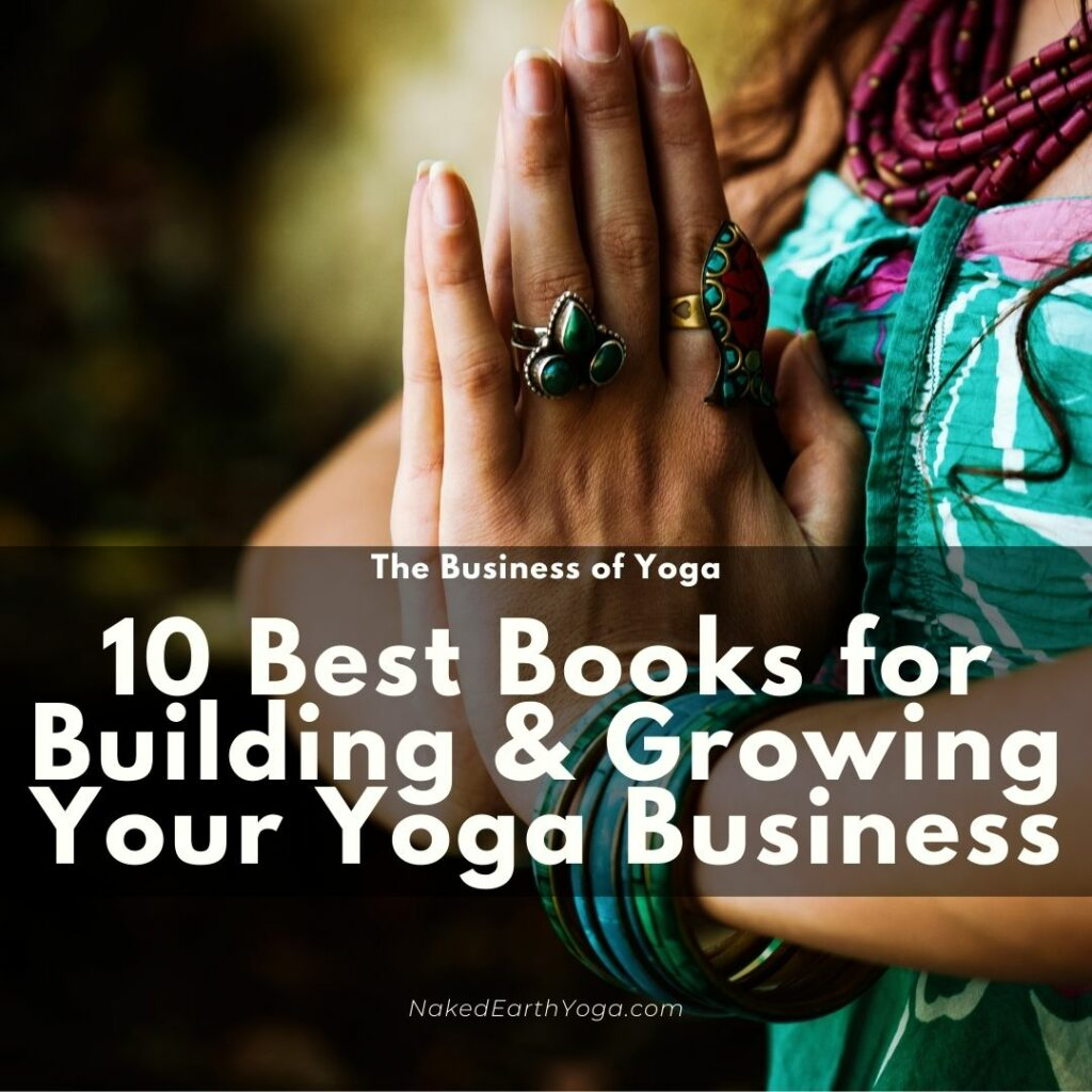 best books for growing and building a yoga business