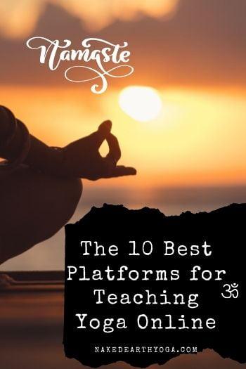 popular platforms for teaching yoga online