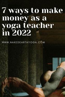 creative ideas for making money as a yoga teacher