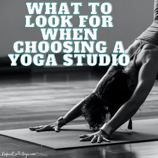 what to look for when choosing a yoga studio